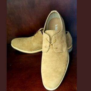 B Blass Brown suede Oxford Lace Up Shoes Size 11.5